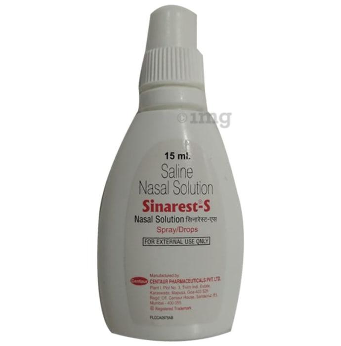 Sinarest S Nasal Drops