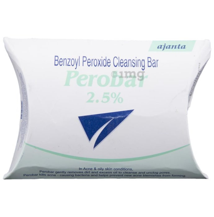 Perobar 2.5% Cleansing Bar