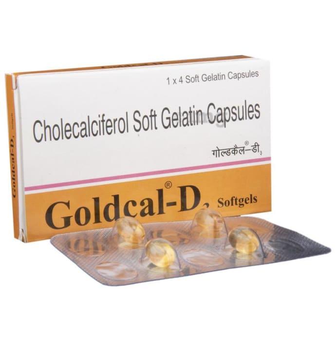 Goldcal-D3 Softgels