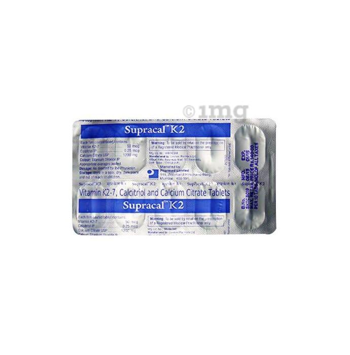 Supracal K2 Tablet
