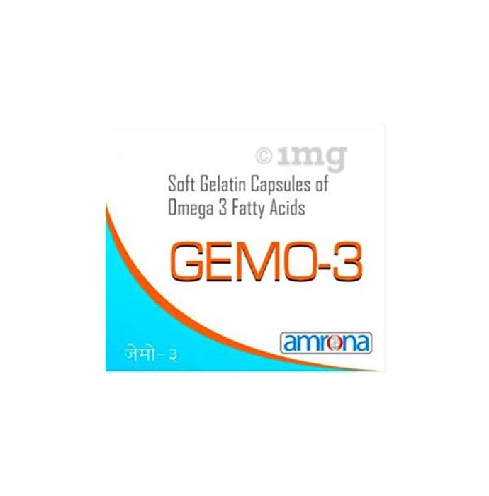 Gemo-3 Soft Gelatin Capsule