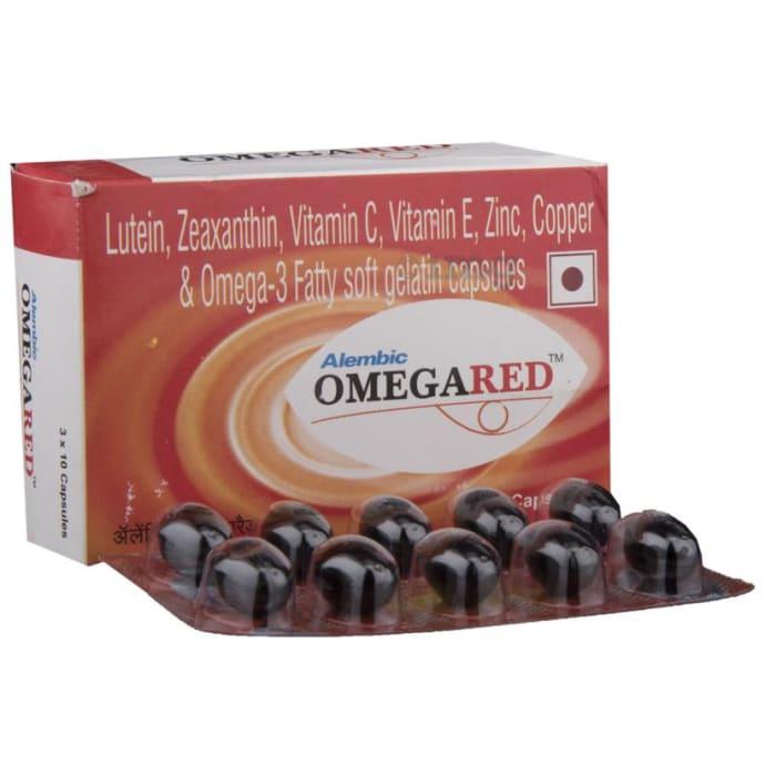 Omegared Capsule