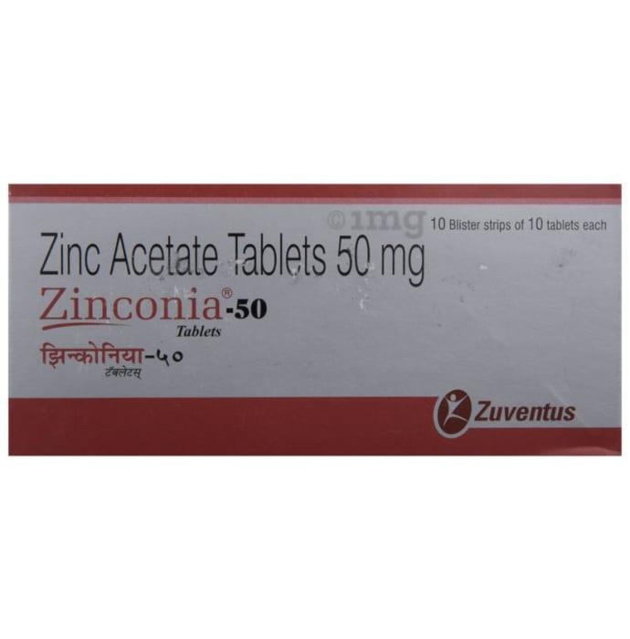 Zinconia 50 Tablet