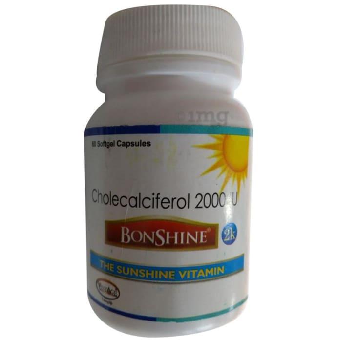 Bonshine 2000IU Soft Gelatin Capsule