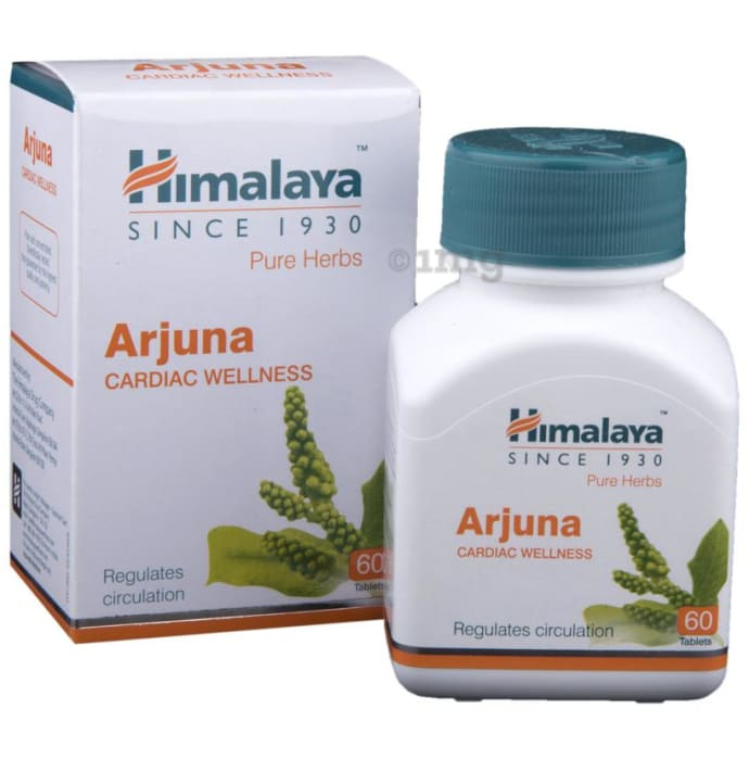 Himalaya Wellness Pure Herbs Arjuna Cardiac Wellness Tablet