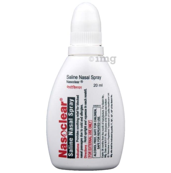 Nasoclear Saline Nasal Spray