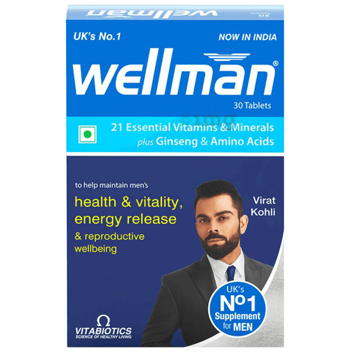 Wellman Health Supplement for Men Tablet