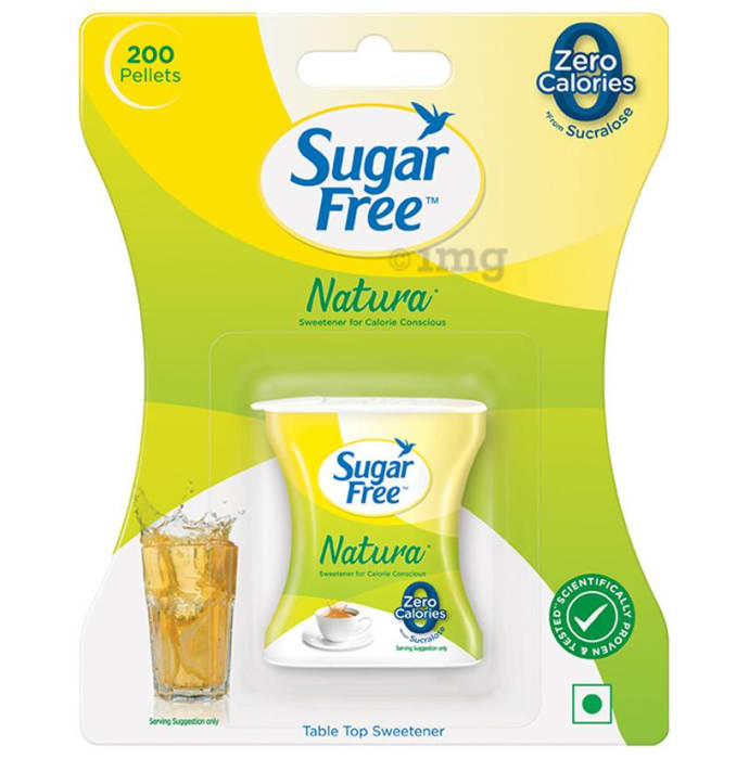 Sugar Free Natura Low Calorie Sweetener Pellets