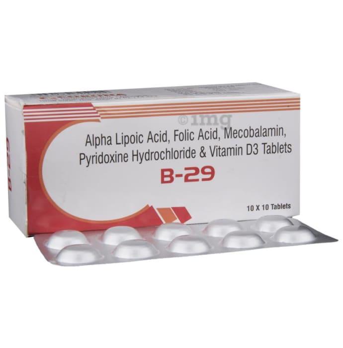B 29 Tablet