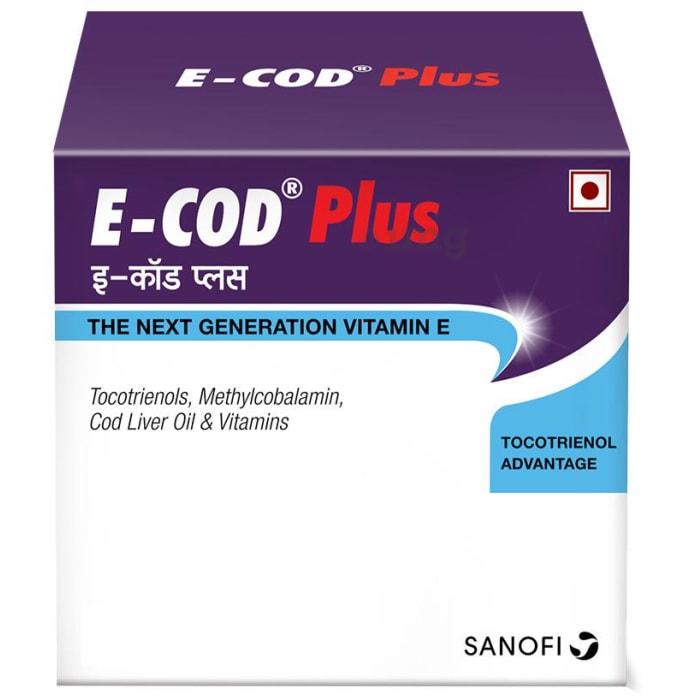 E-COD Plus Vitamin E Supplement Softgels