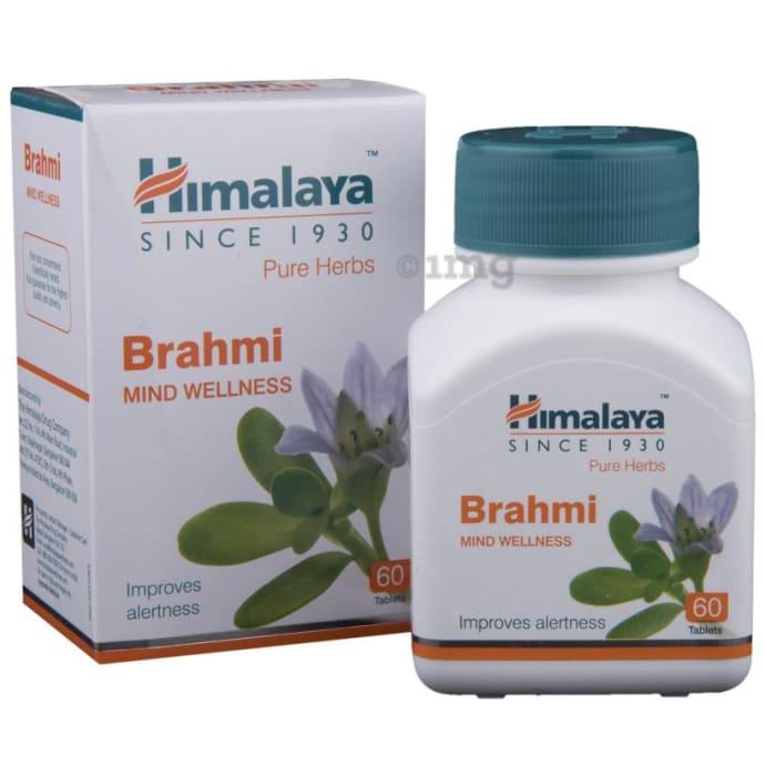 Himalaya Wellness Pure Herbs Brahmi Mind Wellness Tablet