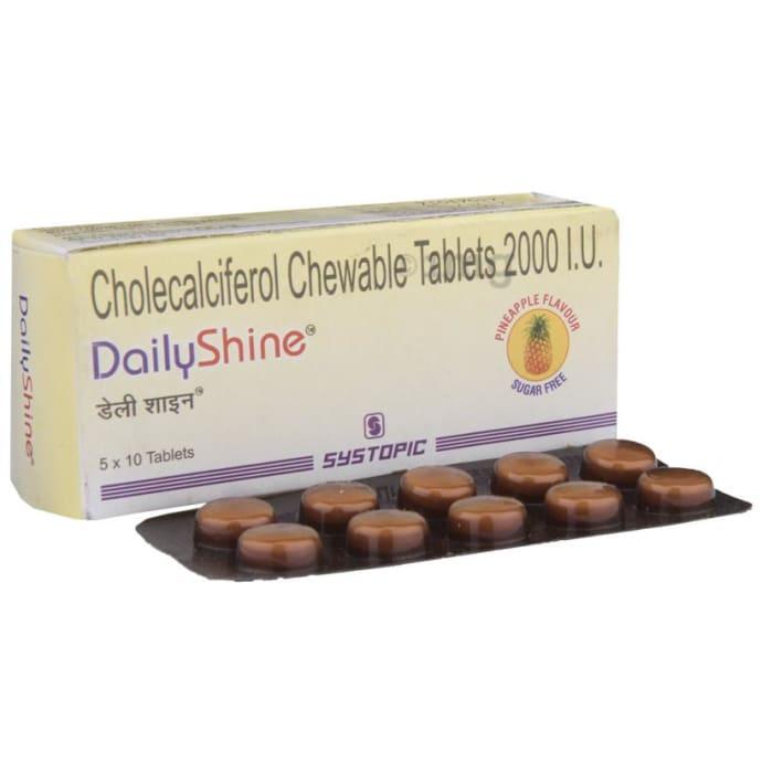 Dailyshine 2000IU Tablet