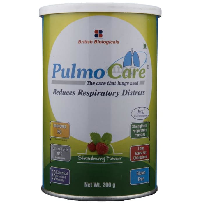 Pulmocare  Powder Strawberry
