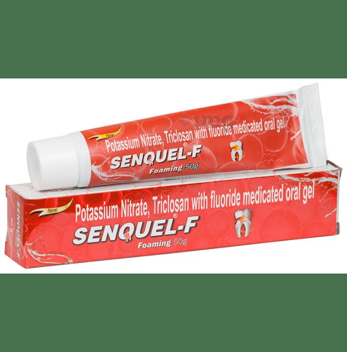 Senquel - F Foaming Medicated Oral Gel
