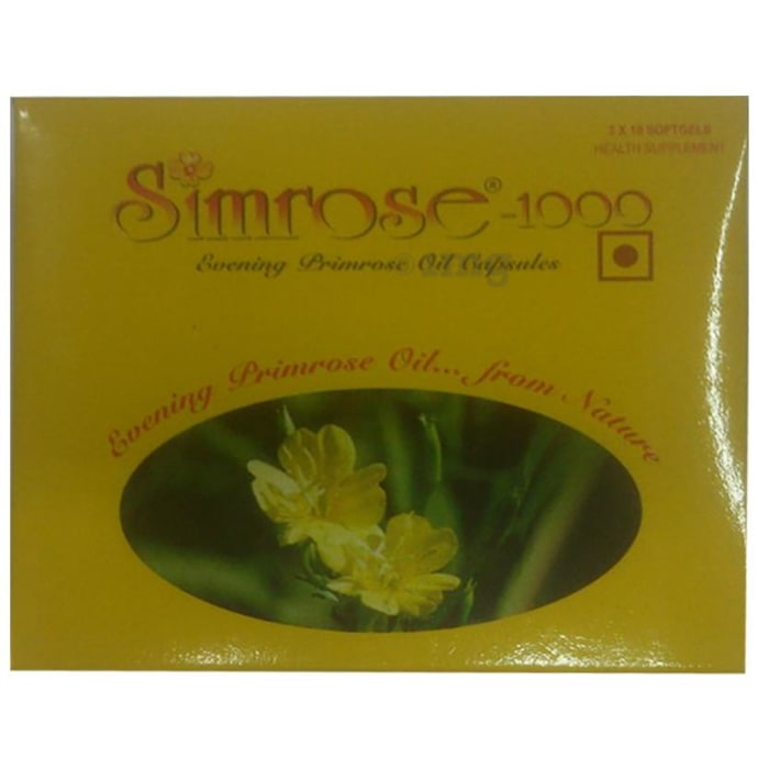 Simrose -1000 Soft Gelatin Capsule