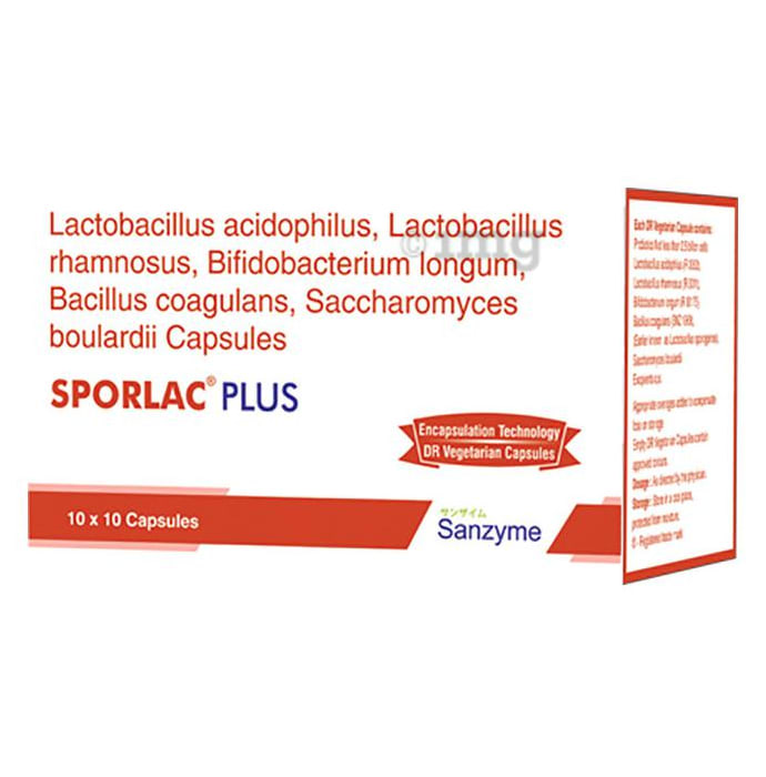 Sporlac Plus Capsule