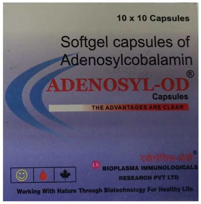 Adenosyl - OD Capsule Soft Gelatin Capsule