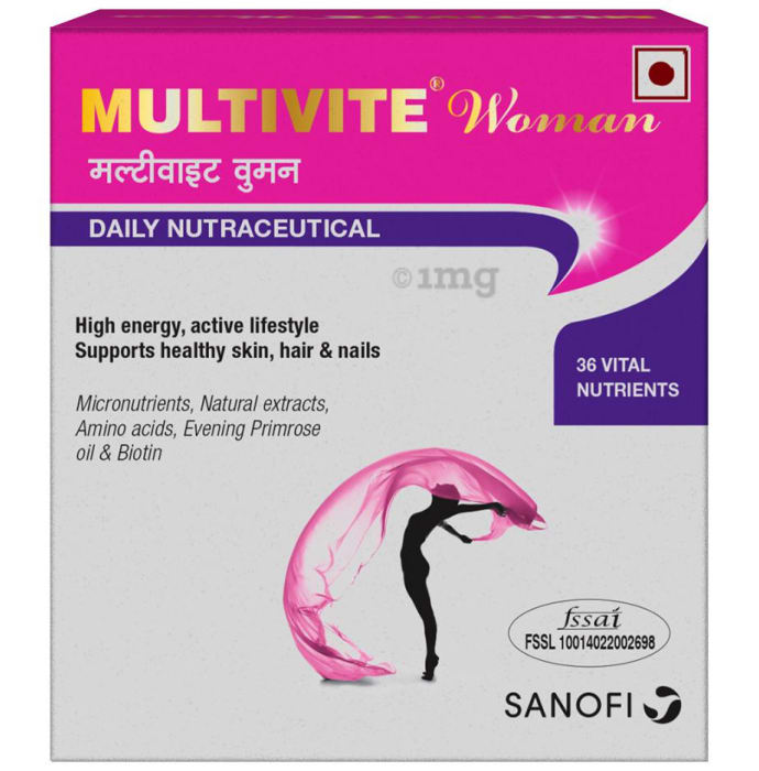 Multivite Woman Health Supplement Softgel