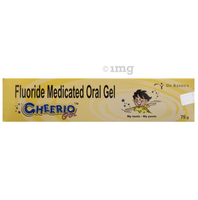 Cheerio Fluoride Medicated Oral Gel