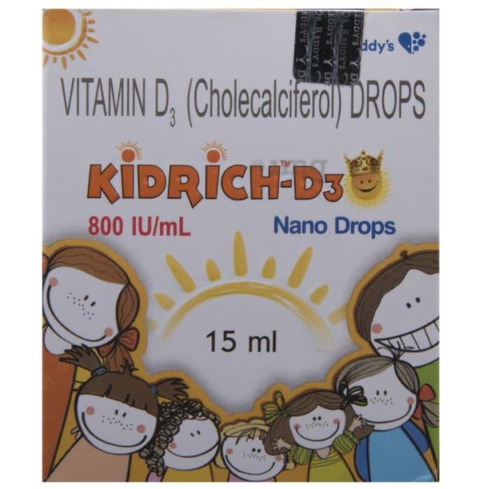 Kidrich-D3 800 IU/ml Nano Drop