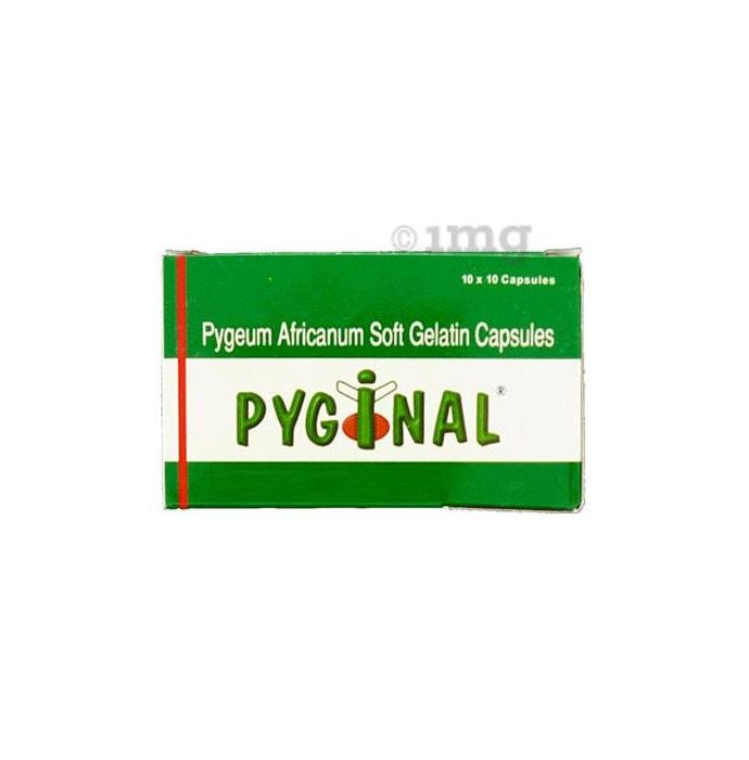 Pyginal Soft Gelatin Capsule