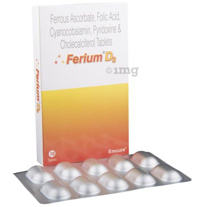 Ferium D3 Tablet