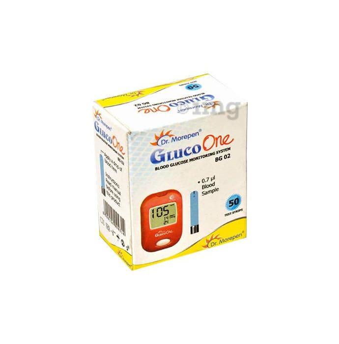 Dr Morepen BG 02 Gluco One Blood Glucose Test Strip