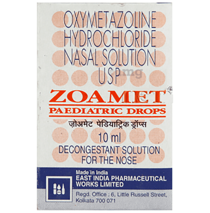 Zoamet Paediatric Nasal Drops