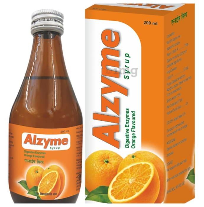 Alzyme Syrup Orange