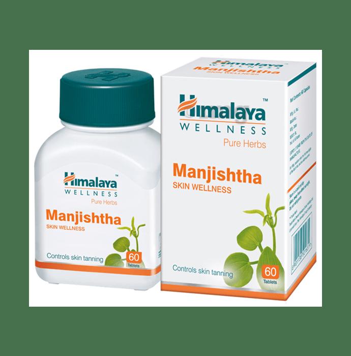 Himalaya Wellness Pure Herbs Manjishtha Skin Wellness Tablet
