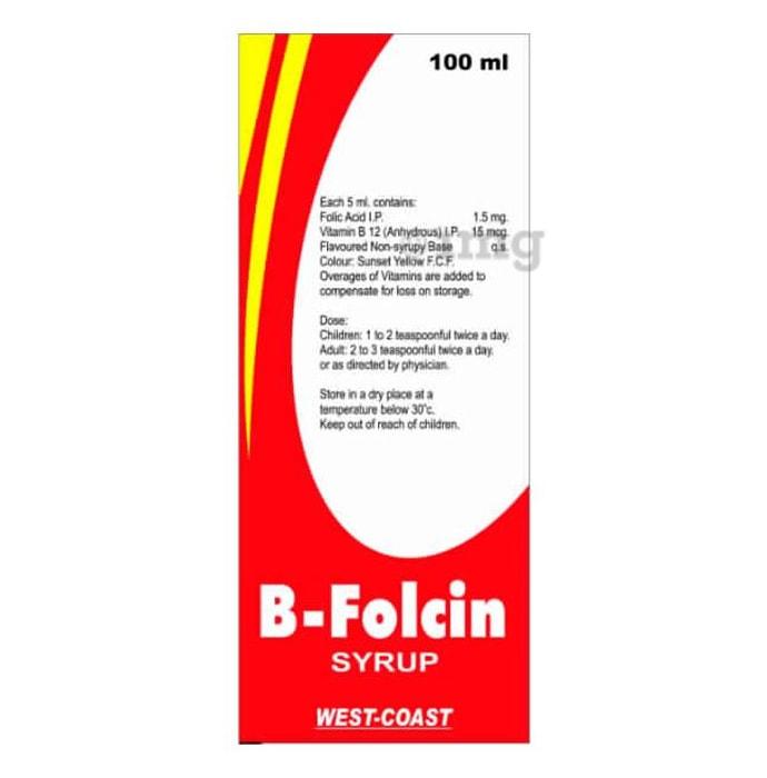 B-Folcin Syrup
