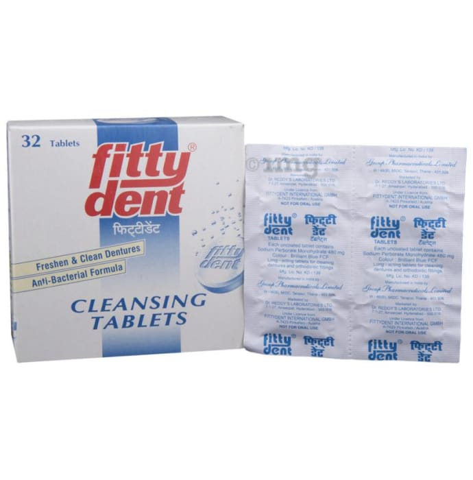 Fittydent Cleansing Tablet