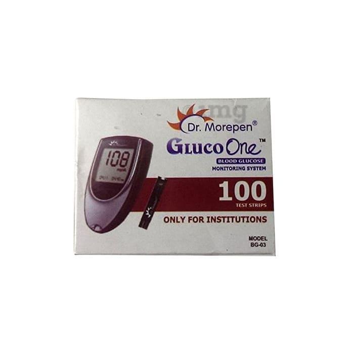 Dr Morepen Gluco One BG 03 Blood Glucose Test Strip