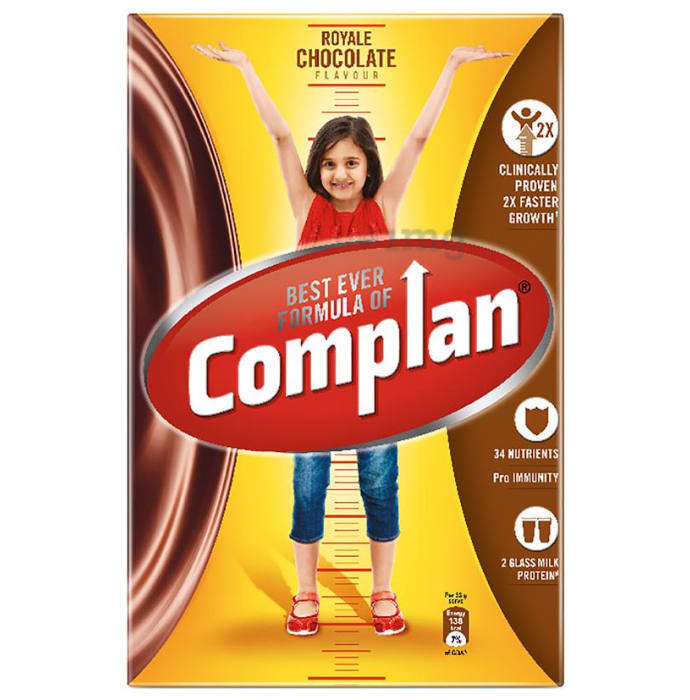 Complan Nutrition and Health Drink Refill Royale Chocolate