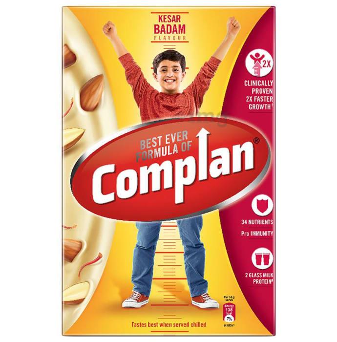 Complan Nutrition and Health Drink Refill Kesar Badam