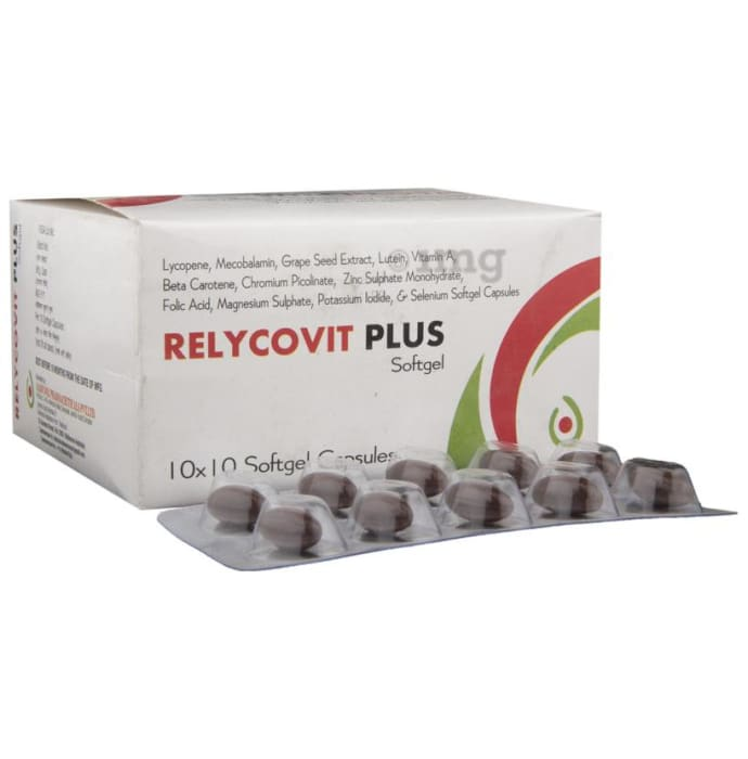 Relycovit Plus Soft Gelatin Capsule