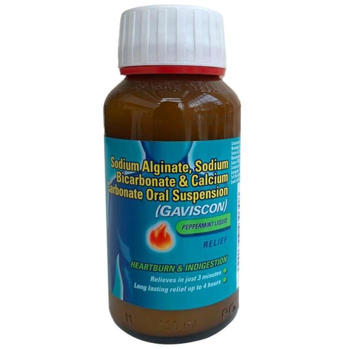 Gaviscon Anti-Reflux Antacid Peppermint Oral Suspension