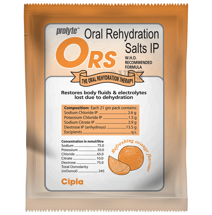 ORS Powder Refreshing Orange