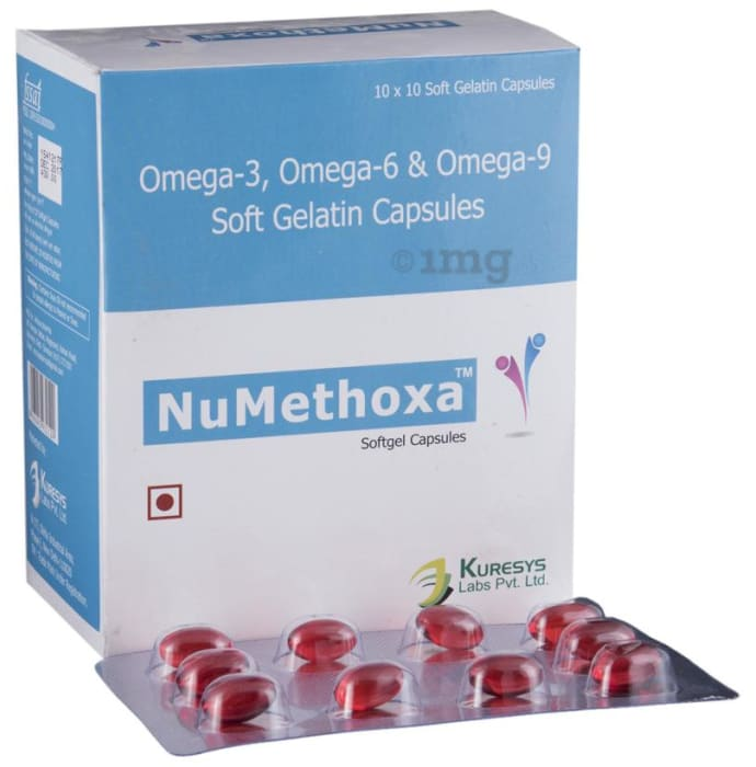 Numethoxa Soft Gelatin Capsule