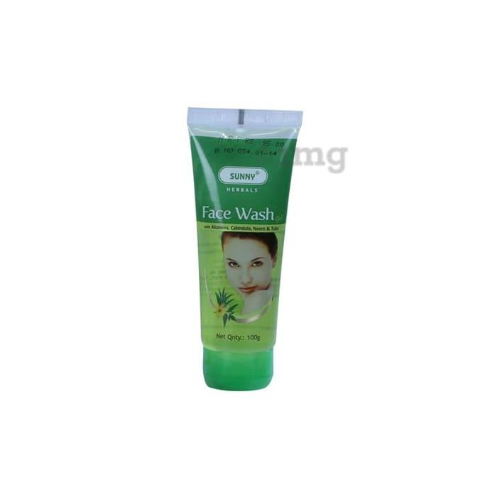 Bakson's Face Wash With Aloevera Calendula Neem And Tulsi