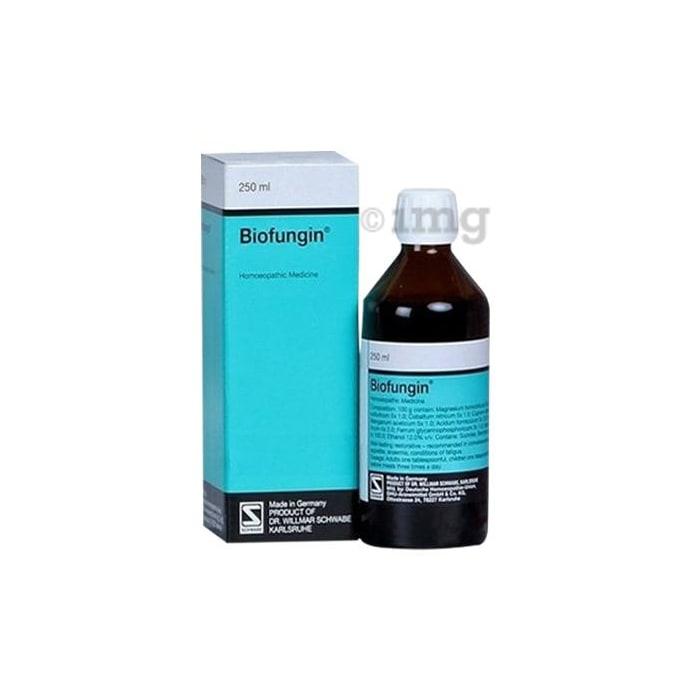 Dr Willmar Schwabe Germany Biofungin Syrup