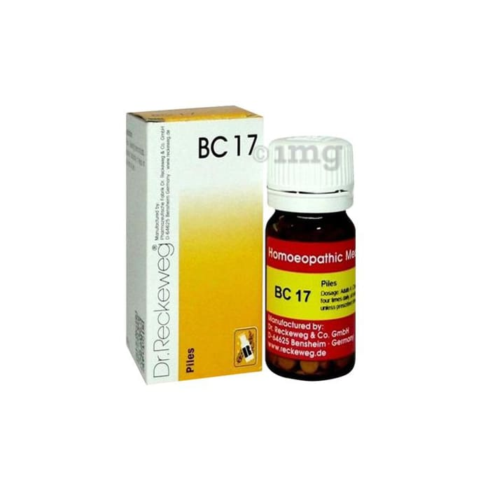 Dr. Reckeweg Bio-Combination 17 (BC 17) Tablet