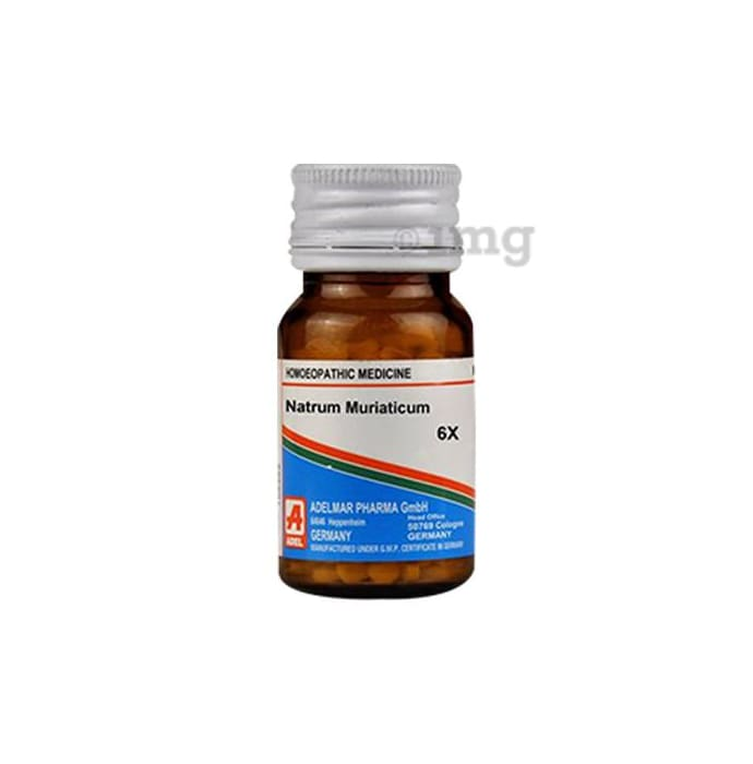 ADEL Natrum Muriaticum Biochemic Tablet 6X