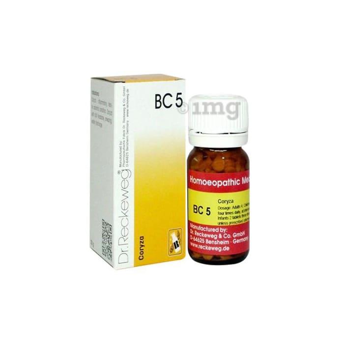 Dr. Reckeweg Bio-Combination 5 (BC 5) Tablet