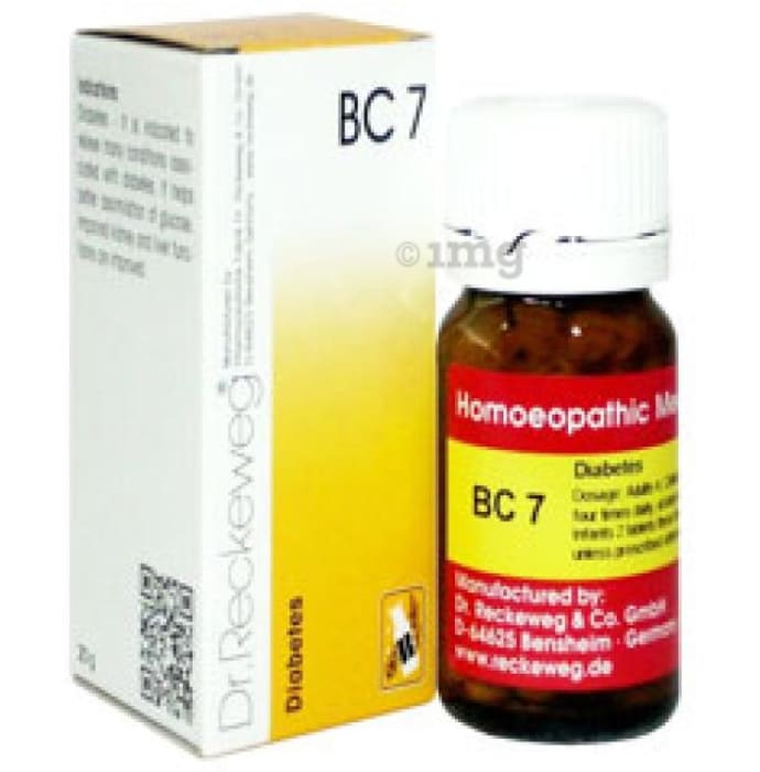 Dr. Reckeweg Bio-Combination 7 (BC 7) Tablet