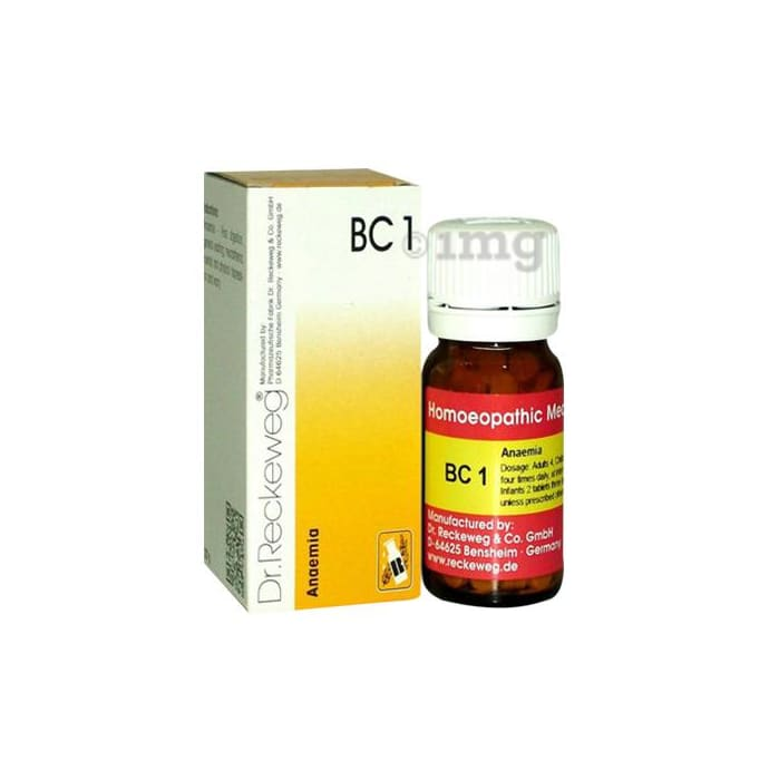 Dr. Reckeweg Bio-Combination 1 (BC 1) Tablet