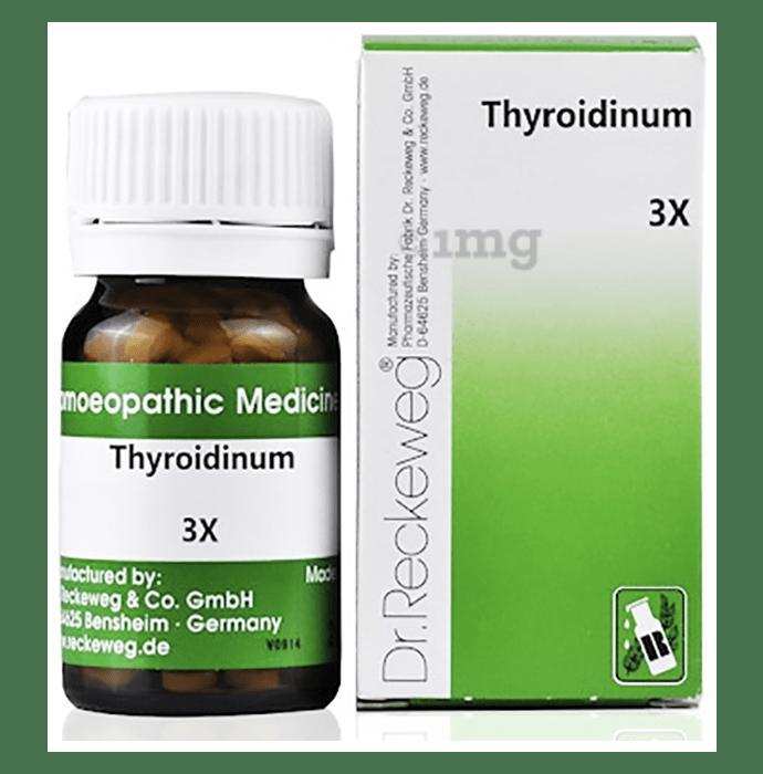 Dr. Reckeweg Thyroidinum Trituration Tablet 3X