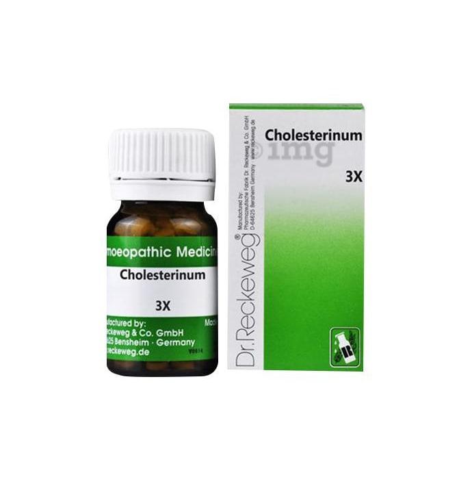 Dr. Reckeweg Cholesterinum Trituration Tablet 3X