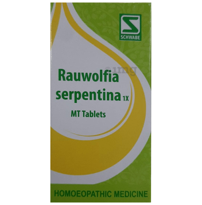 Dr Willmar Schwabe India Rauwolfia Serpentina Tablet 1X