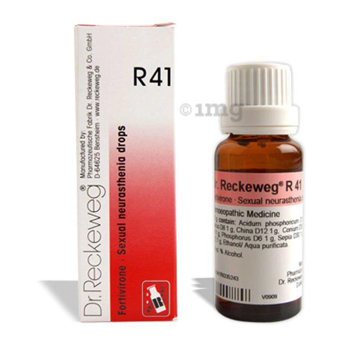 Dr. Reckeweg R41 Sexual Neurasthenia Drop